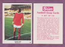 Manchester United George Best Northern Ireland 104